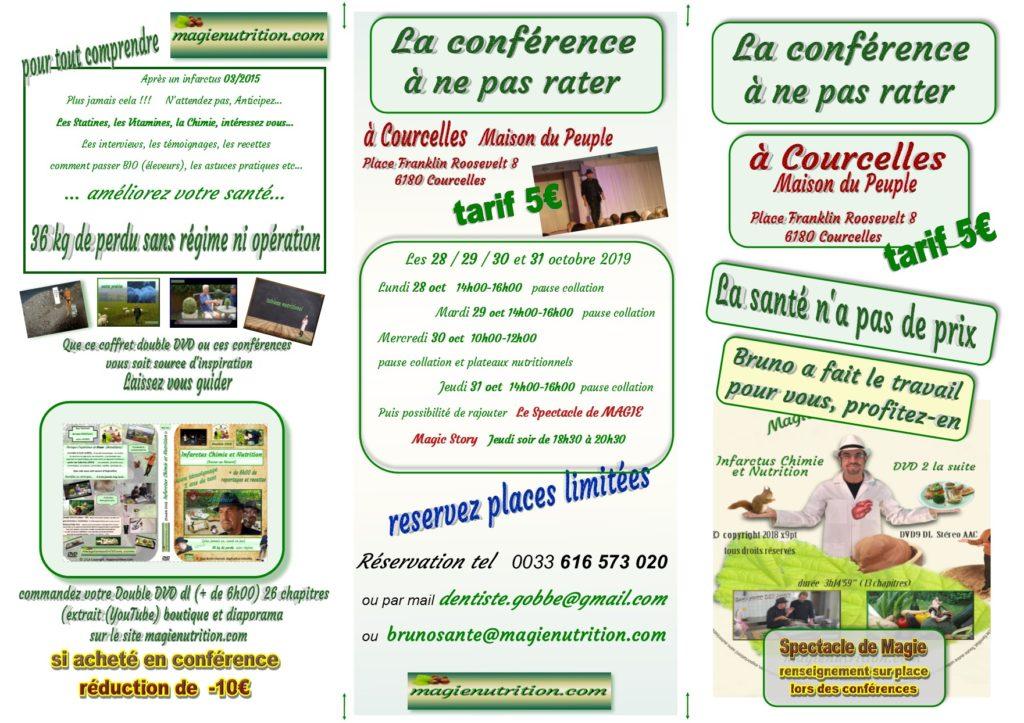 Conférences en Belgique