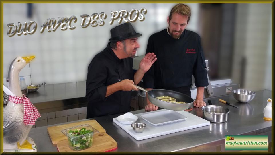 Duo terre mer recette avec des pros double DVD Infarctus Chimie et Nutrition