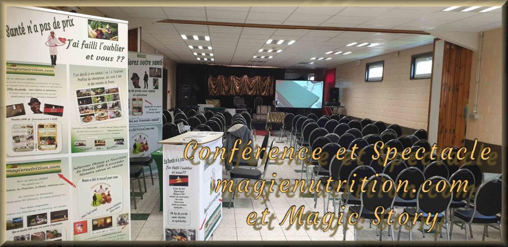 conférences et spectacles